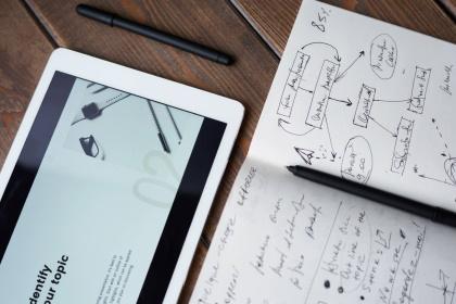 designen en ideeen verwerken website