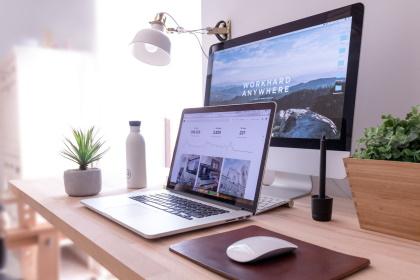 werkplek keep it online- Webdesign bureau Arnhem